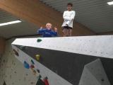 Klettern in der Indoorhalle
