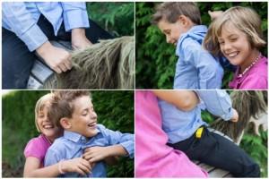 Kinder haben viel Spaß