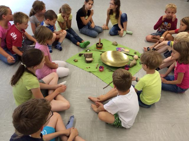 Kinder lernen Achtsamkeit