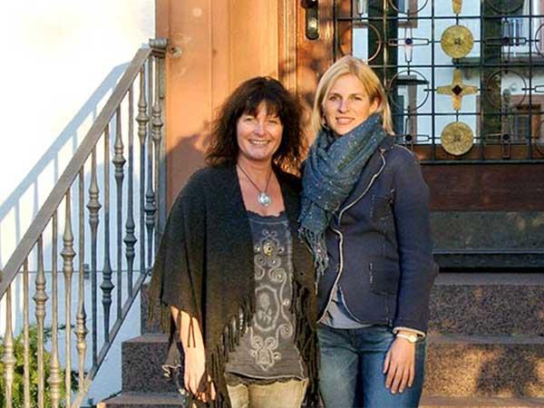 Gabi Ebner und Jasmin Schlimm-Thierjung