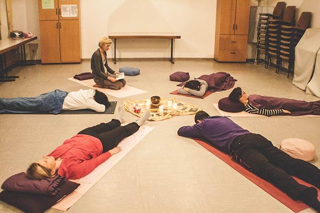 neue Energie durch Meditation