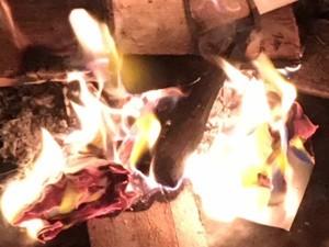 Feuer für Reinigung